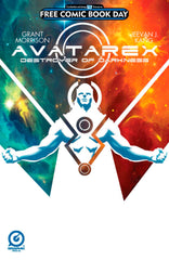 "Avatarex (2016 mini-series) #1-4 + FCBD 2016 [SET] — The Destroyer of Darkness (All Regular ""A"" Covers)"