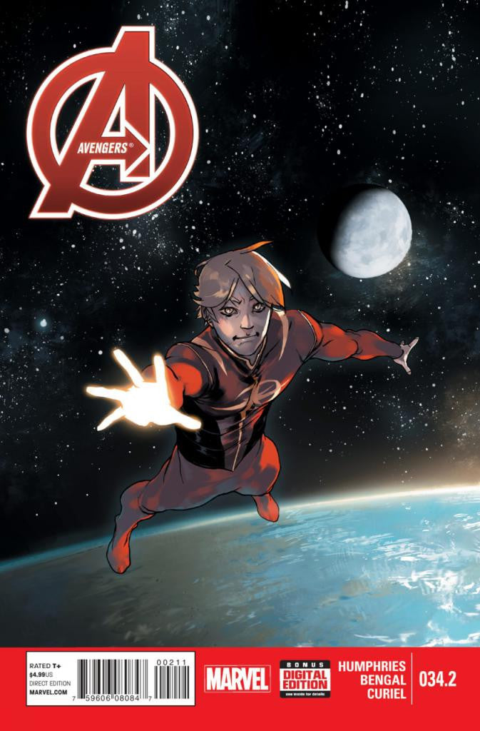 Avengers (2012 Series) #34.2 (Regular Cover - bengal)
