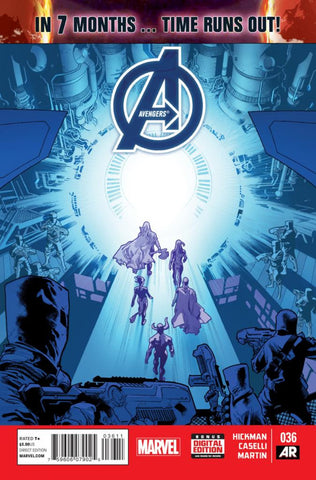 Avengers (2012 Series) #36 (Regular Cover - Stuat Immonen)