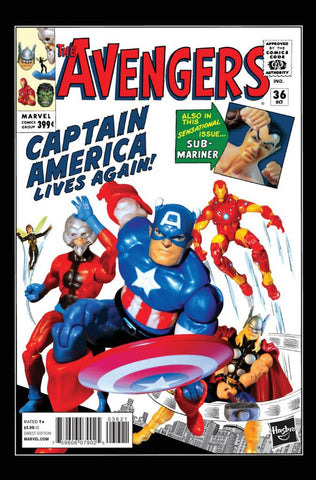 "Avengers (2012 Series) #36 (Variant Incentive ""Action Figure"" Cover - Hasbro)"