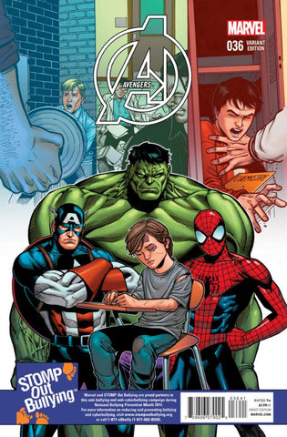 "Avengers (2012 Series) #36 (Variant Incentive ""Stomp-Out Bullying"" Cover - Sean Chen)"