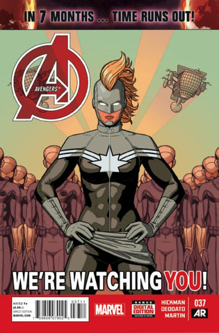 Avengers (2012 Series) #37 (Regular Cover - Jamie McKelvie)
