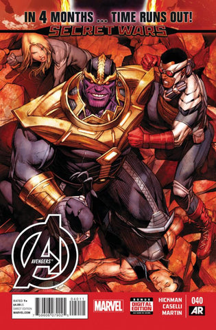 Avengers (2012 Series) #40 (Regular Cover - Dale Keown)