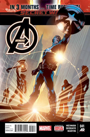 Avengers (2012 Series) #41 (Regular Cover - Bryan Hitch)