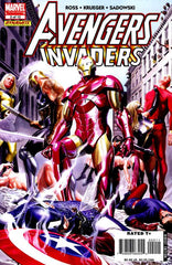 Avengers / Invaders (2008 mini-series) #1-12 + Sketchbook + Giant-Size [SET] — Old Soldiers, New Wars