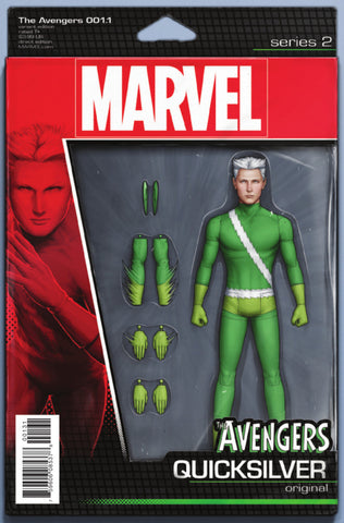 "Avengers (2016 Series) #1.1 (Variant ""Action Figure"" Cover - John Tyler Christopher)"