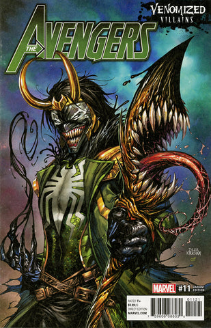 "Avengers (2016 Series) #11 (Variant ""Venomized Villains"" Cover - Tyler Kirkham)"