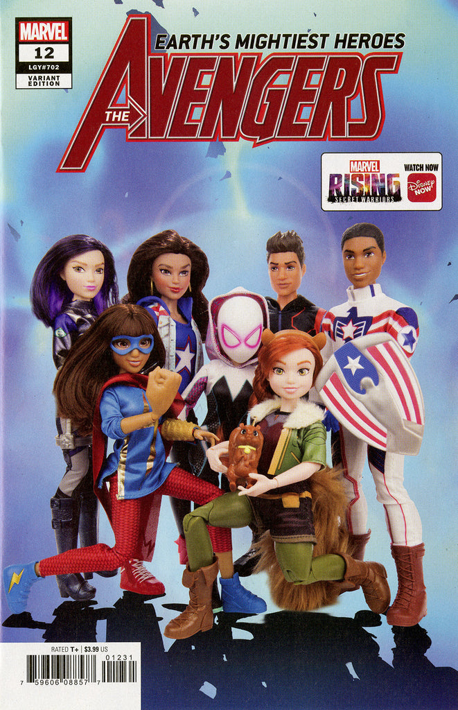 "Avengers (2018 Series) #8 (Variant ""Marvel Rising Action Doll Homage"" Cover - Photo)"