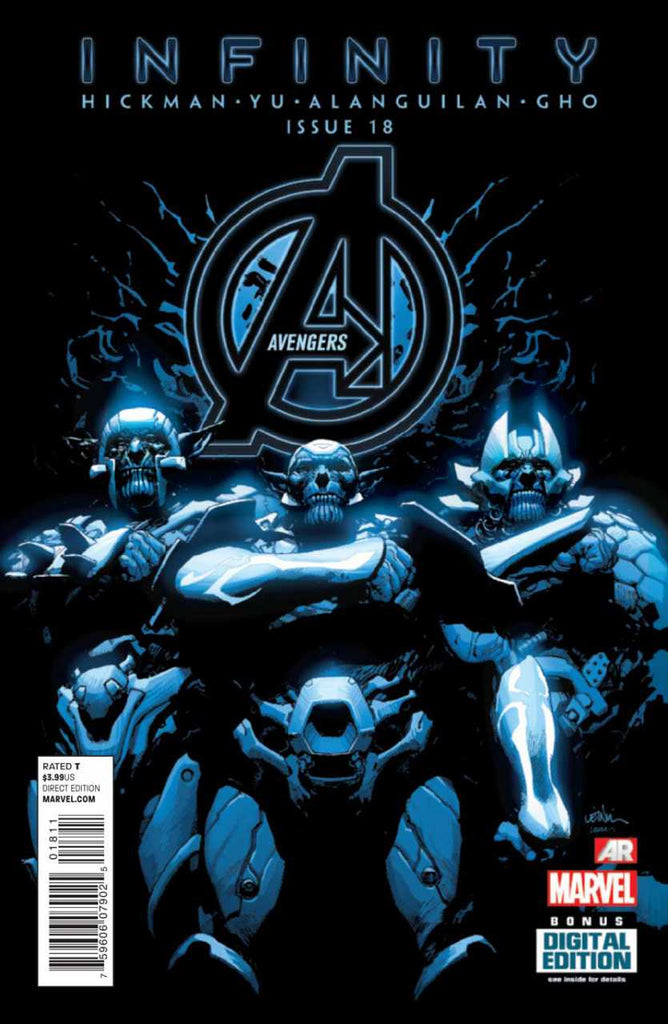 Avengers (2012 Series) #18 (Regular Cover - Leinil Francis Yu)