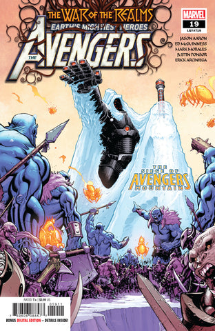 Avengers (2018 Series) #19 (Regular Cover - Ed McGuinness)