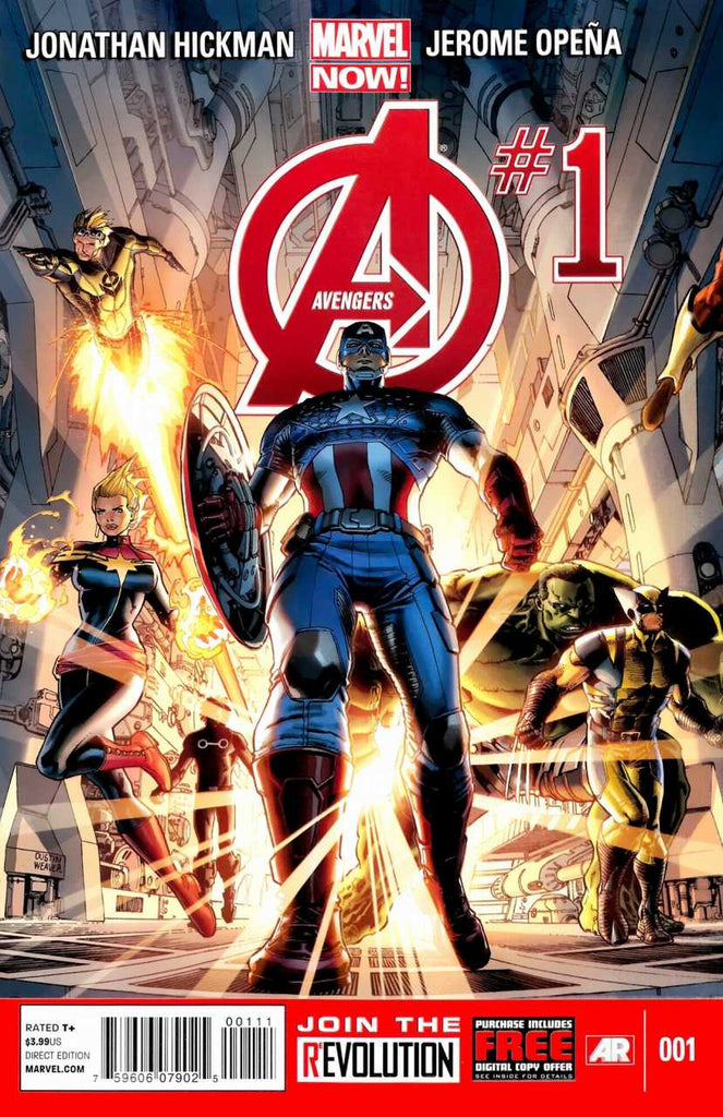Avengers (2012 series) #01-6 [SET] — Volume 01: Avengers World (All Regular Covers)