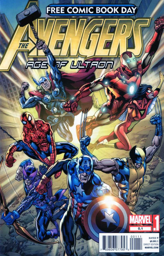Avengers: Age of Ultron (2012 One-Shot) #0.1 (FCBD 2012 Edition)
