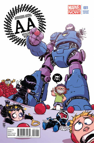 "Avengers Arena (2012 Series) #1 (Variant ""Baby"" Cover - Skottie Young)"