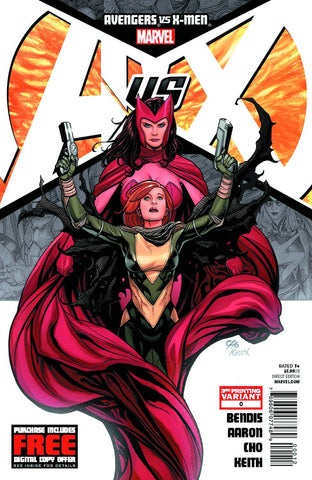 Avengers vs. X-Men (2012 Mini-Series) #0 (Variant 3rd Printing Cover - Jim Cheung)