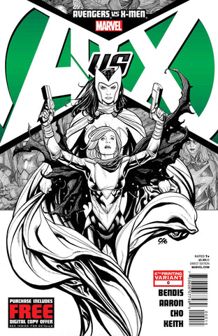 Avengers vs. X-Men (2012 Mini-Series) #0 (Variant 6th Printing Cover - Jim Cheung)