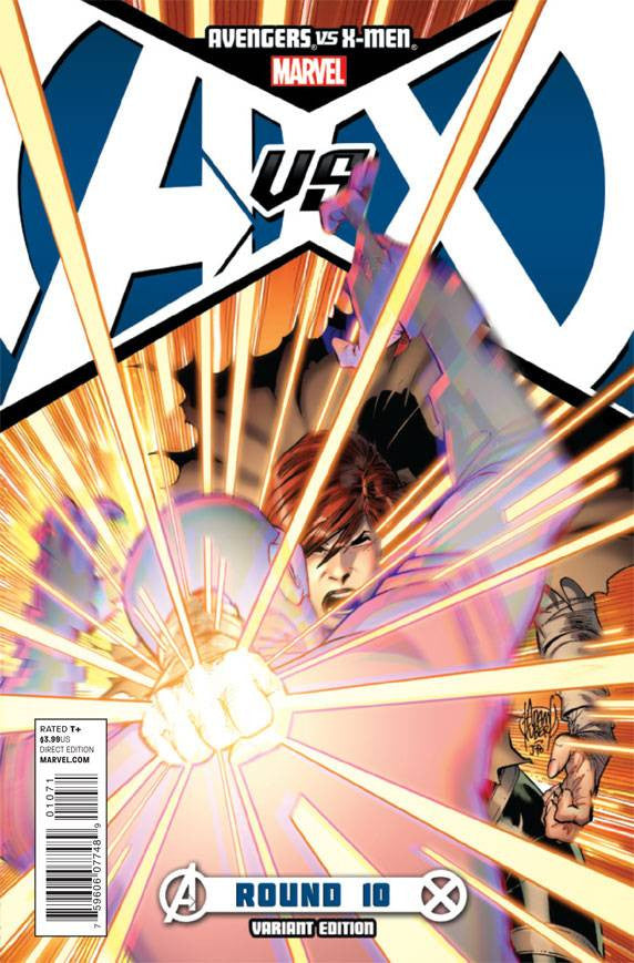 Avengers vs. X-Men (2012 Mini-Series) #10 (Variant Incentive Cover - Adam Kubert)