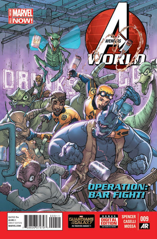 Avengers World (2013 Series) #9