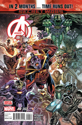 Avengers (2012 Series) #42 (Regular Cover - Scott Koblish)