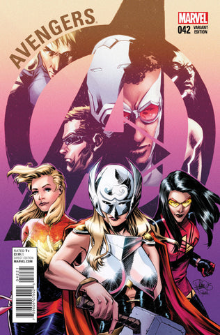 "Avengers (2012 Series) #42 (Variant ""Women of Marvel"" Cover - Elena Casagrande)"