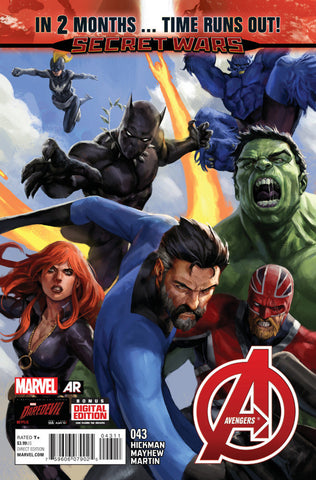 Avengers (2012 Series) #43 (Regular Cover - Stefano Caselli)