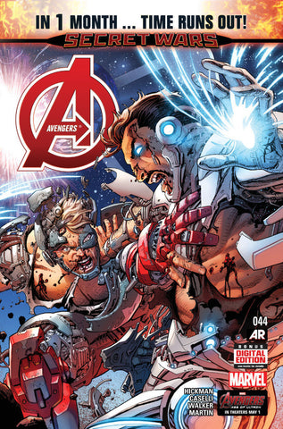 Avengers (2012 Series) #44 (Regular Cover - Dustin Weaver)