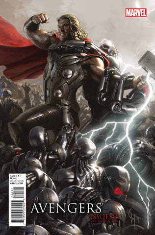 "Avengers (2012 Series) #44 (Variant Connecting ""Movie"" Cover - Ryan Meinderding)"