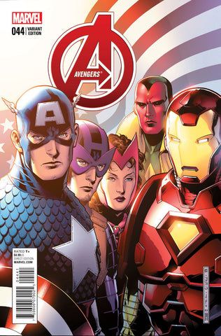 "Avengers (2012 Series) #44 (Variant ""End of an Era"" Final Issue Cover - Jim Cheung)"