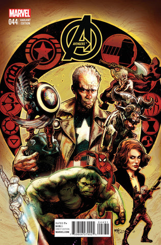 Avengers (2012 Series) #44 (Variant Incentive Cover - Tony Harris)