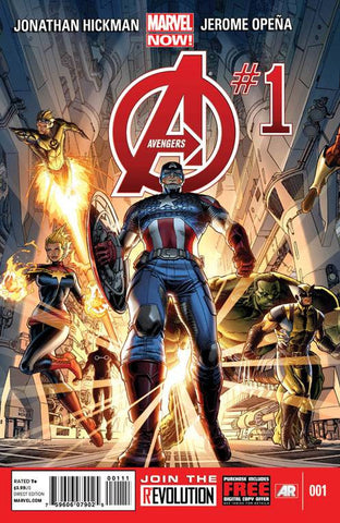 Avengers (2012 Series) #1 (Regular Cover - Dustin Weaver)
