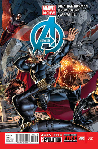 Avengers (2012 Series) #2 (Regular Cover - Dustin Weaver)