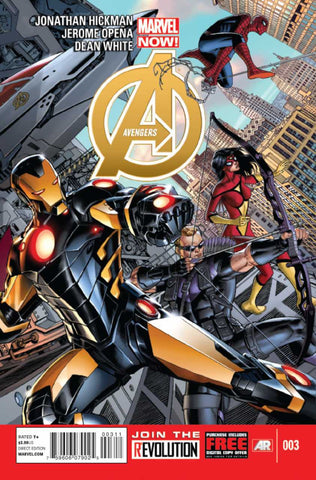 Avengers (2012 Series) #3 (Reguylar Cover - Dustin Weaver)