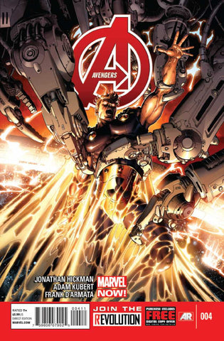 Avengers (2012 Series) #4 (Regular Cover - Dustin Weaver)
