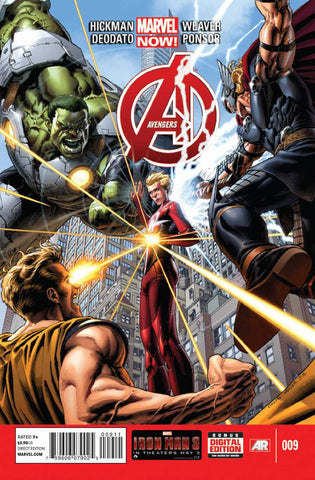 Avengers (2012 Series) #9 (Regular Cover - Dustin Weaver)
