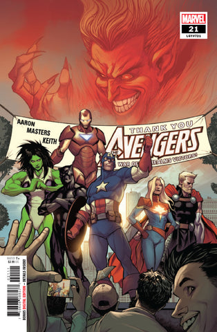 Avengers (2018 Series) #21 (Regular Cover - Stefano Caselli)