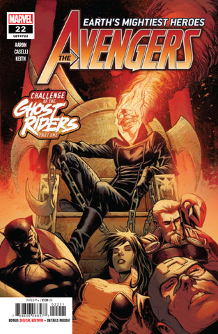 Avengers (2018 Series) #22 (Regular Cover - Stefano Caselli)