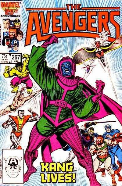 Avengers (1963 series) #267-269 [SET] — The Once and Future Kang!