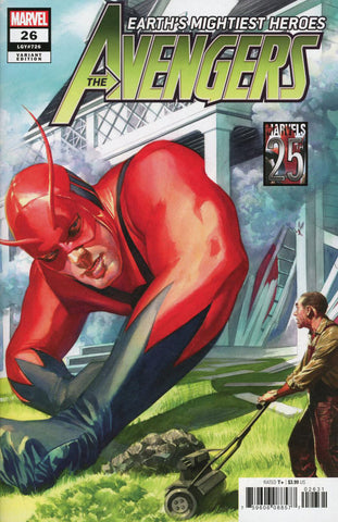 "Avengers (2018 Series) #26 (Variant ""Marvel's 25th Anniversary"" Cover - Alex Ross)"