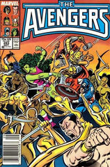 Avengers (1963 series) #279-285 [SET] — Assault on Olympus!