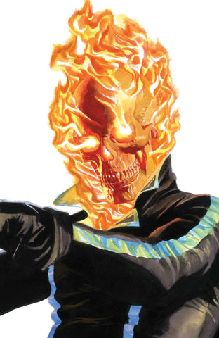 "Avengers (2018 Series) #36 (Variant ""Timeless"" Ghost Rider Virgin Art Cover - Alex Ross)"
