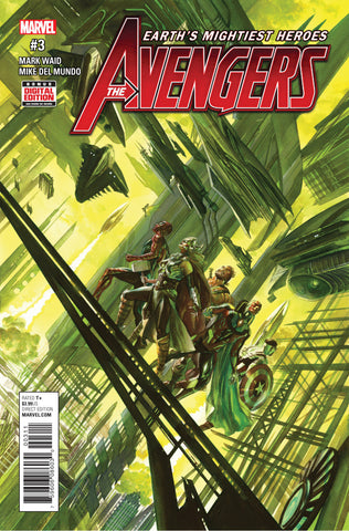 Avengers (2016 Series) #3 (Regular Cover - Alex Ross)