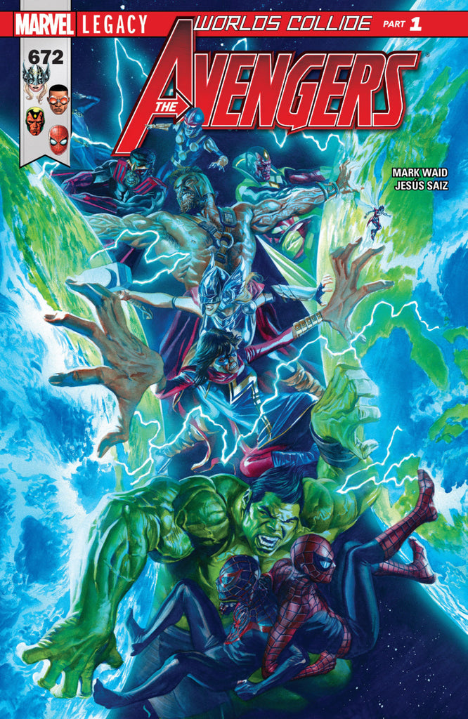 Avengers (2016 series) #672 (A Multi-Title Crossover) [SET] — Volume 03: Worlds Collide