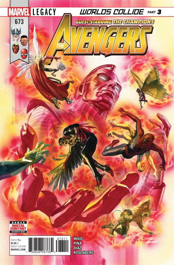Avengers (2016 Series) #673 (Regular Cover - Alex Ross)
