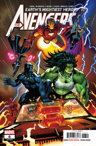 Avengers (2018 Series) #6 (Regular Cover - Ed McGuinness)
