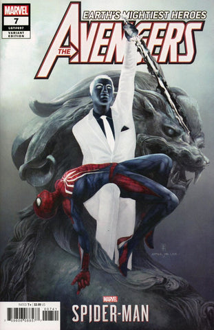 "Avengers (2018 Series) #7 (Variant Incentive ""Spider-Man Videogame"" Cover - Eve Ventrue)"
