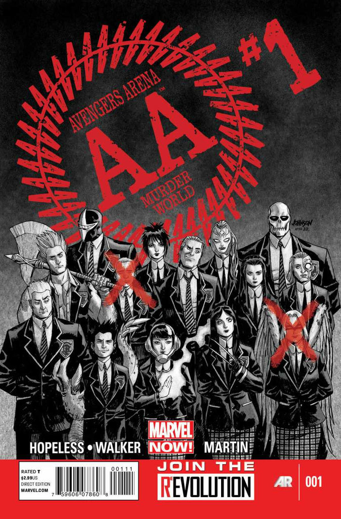 Avengers Arena (2012 series) #01-6 [SET] — Volume 01: Kill or Die (All Regular Covers)