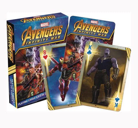 Playing Cards – Avengers; Infinity War (Film) Playing Cards