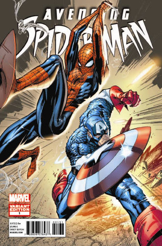Avenging Spider-Man (2011 Series) #1 (Variant Incentive Cover - J. Scott Campbell)
