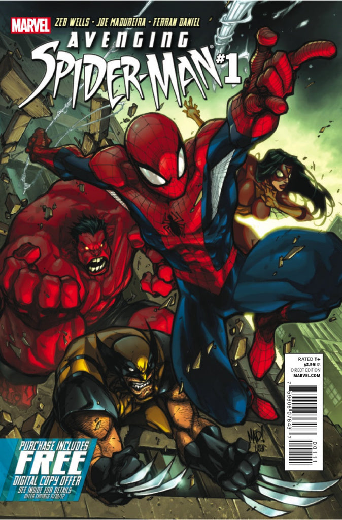 Avenging Spider-Man (2011 series) #01-5 + Daily Bugle [SET] — Volume 01: My Friends Can Beat-Up Your Friends