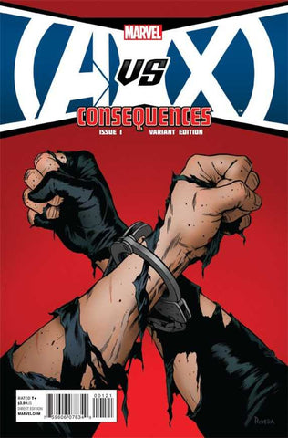 AvX: Consequences (2012 Mini-Series) #1 (Variant Incentive Cover - Paolo Rivera)