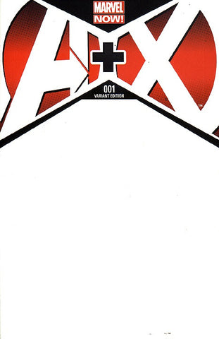 A+X (2012 Series) #1 (Variant Cover - Blank)